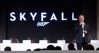 SKYFALL Announced in London