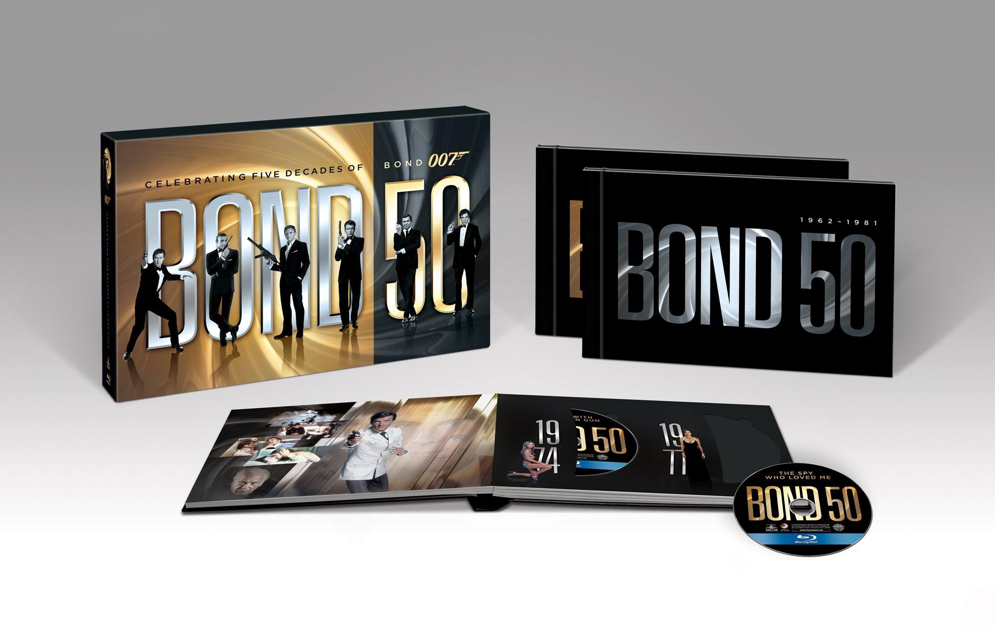 james bond 50 jaar blu ray The Official James Bond 007 Website | Bond 50 on Blu ray james bond 50 jaar blu ray