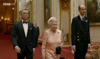 Bond's Royal Mission