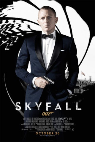 New UK SKYFALL Poster Revealed