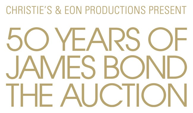 50 Years Of James Bond – The Auction