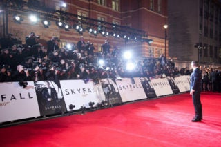 SKYFALL World Premiere Photos And Video