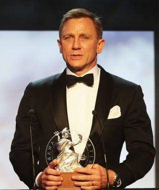 Daniel Craig Honoured