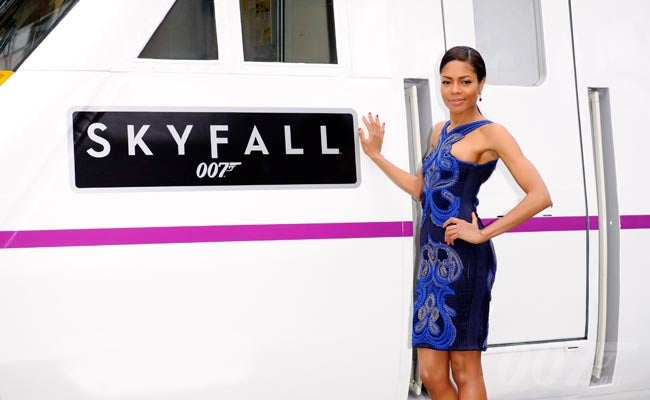 SKYFALL Train Unveiled