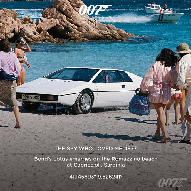 THE SPY WHO LOVED ME, 1977