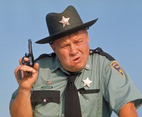 Image: Name one film in which Sheriff J.W. Pepper appears?