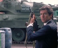 Image: Which was the first Bond film to star Pierce Brosnan?