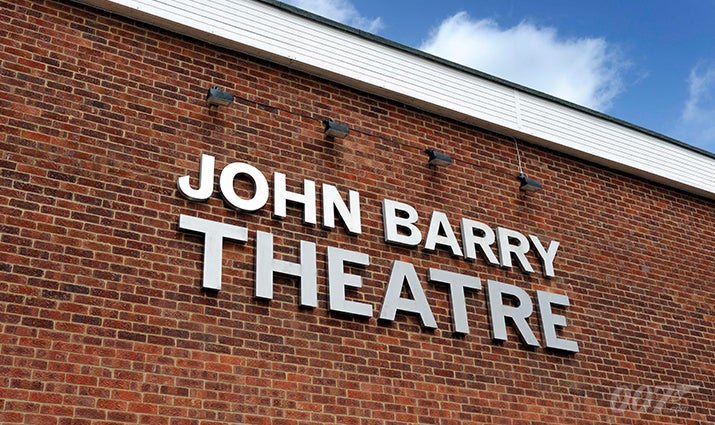 JOHN BARRY THEATRE opens at Pinewood