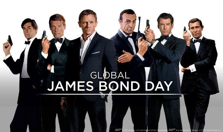 Global James Bond Day