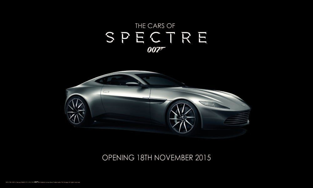 THE CARS OF SPECTRE