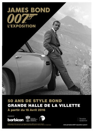 DESIGNING 007 TO OPEN IN PARIS