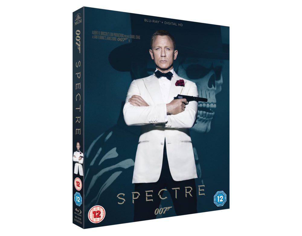 SPECTRE BLU-RAY/DVD INFO RELEASED
