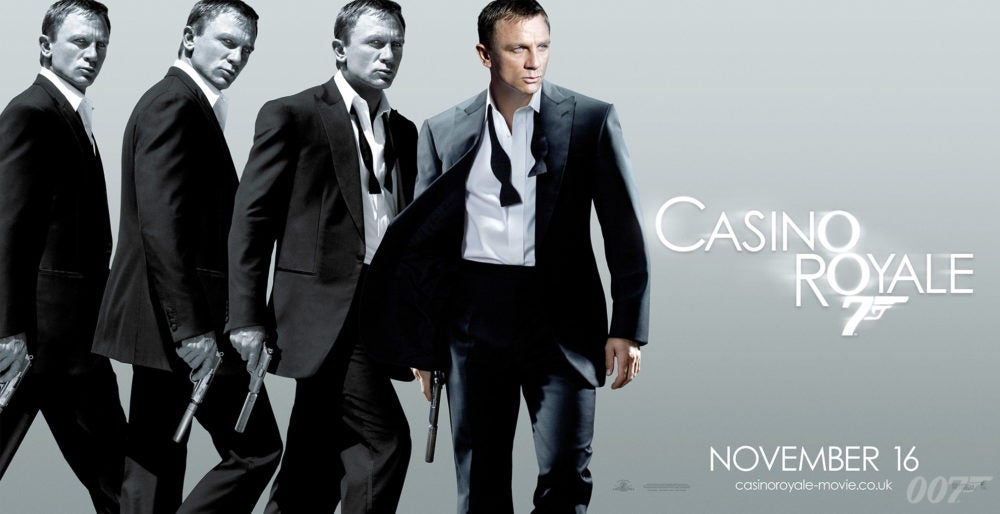 FOCUS OF THE WEEK: CASINO ROYALE