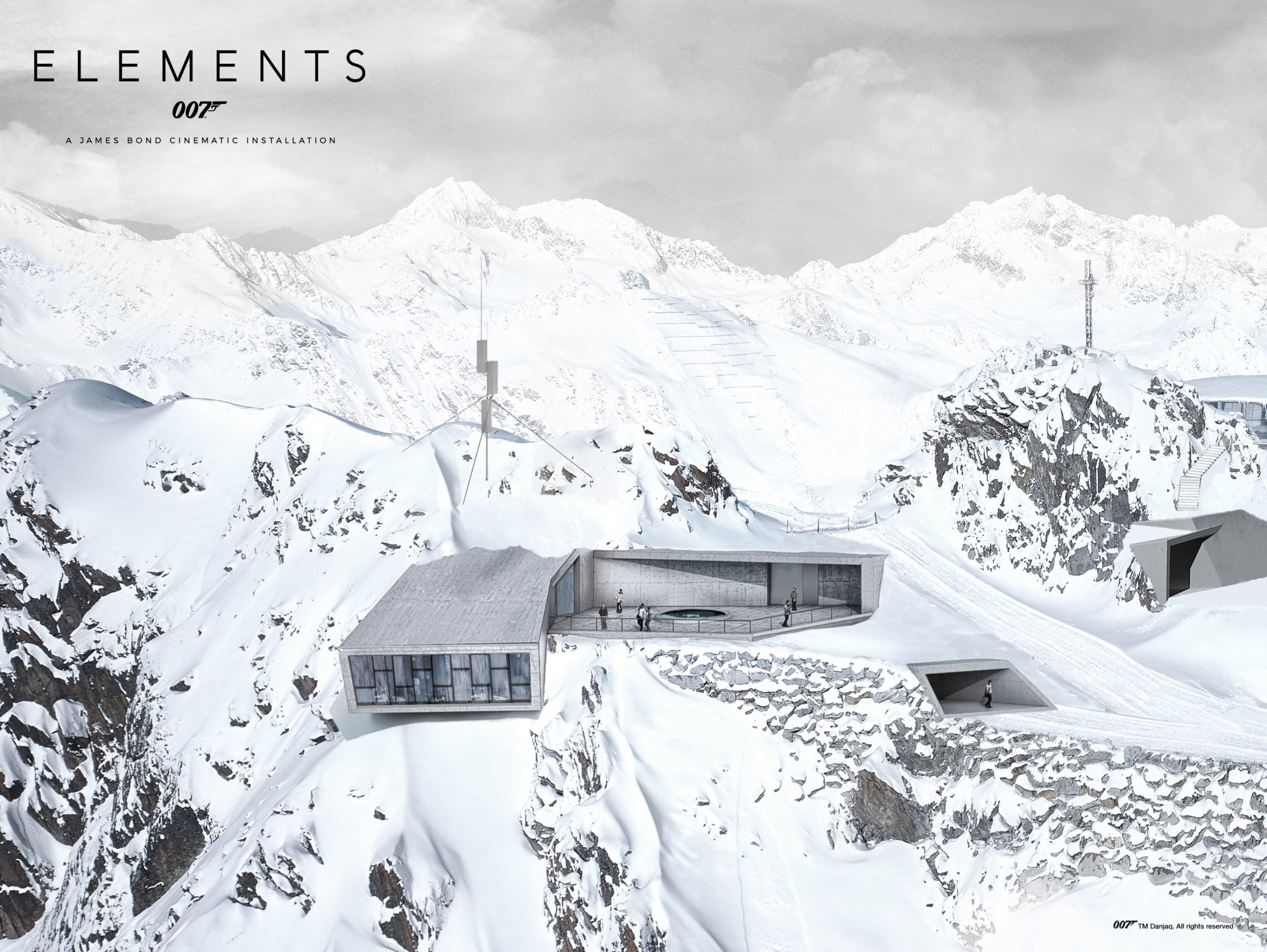 007 Elements: A James Bond Cinematic Installation