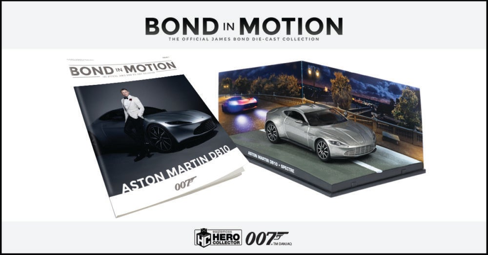 THE OFFICIAL JAMES BOND DIE-CAST COLLECTION