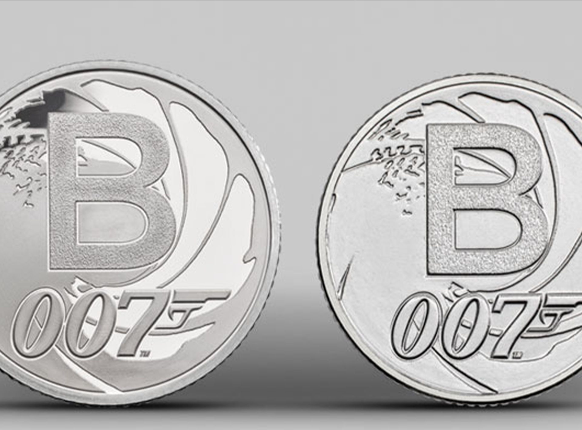 Special James Bond Collectors Coin Released