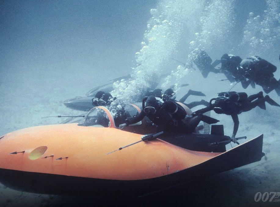 Thunderball's Underwater Fight