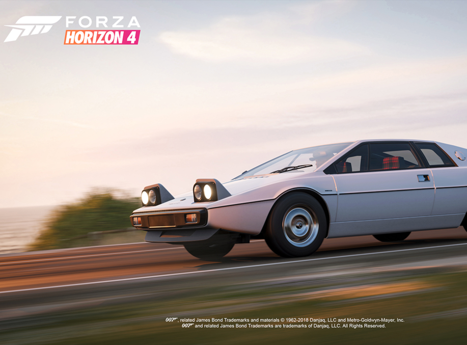 Bond Cars In Forza Horizon 4 Ultimate Edition