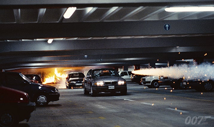 Focus Of The Week: TOMORROW NEVER DIES car chase