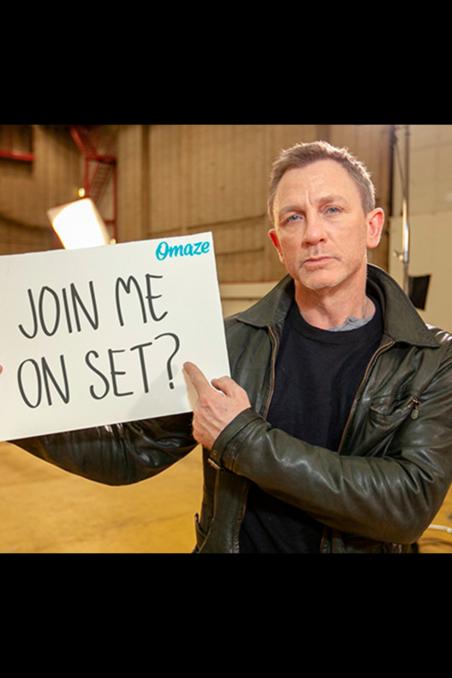 Meet Daniel Craig On The Bond 25 Set