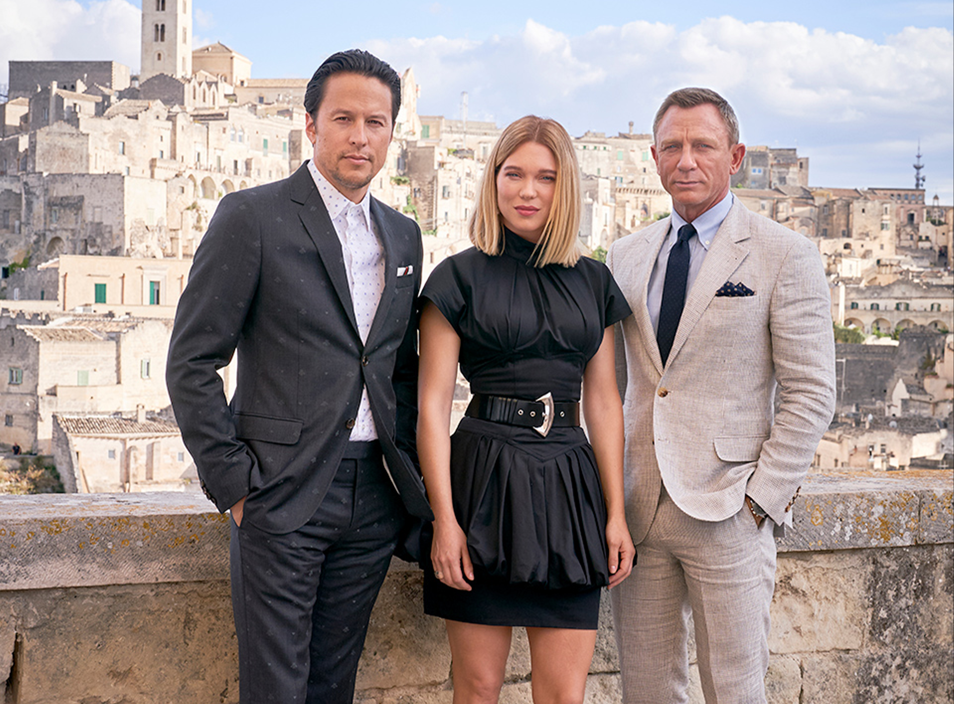 <i>No Time To Die</i> Filming In Italy