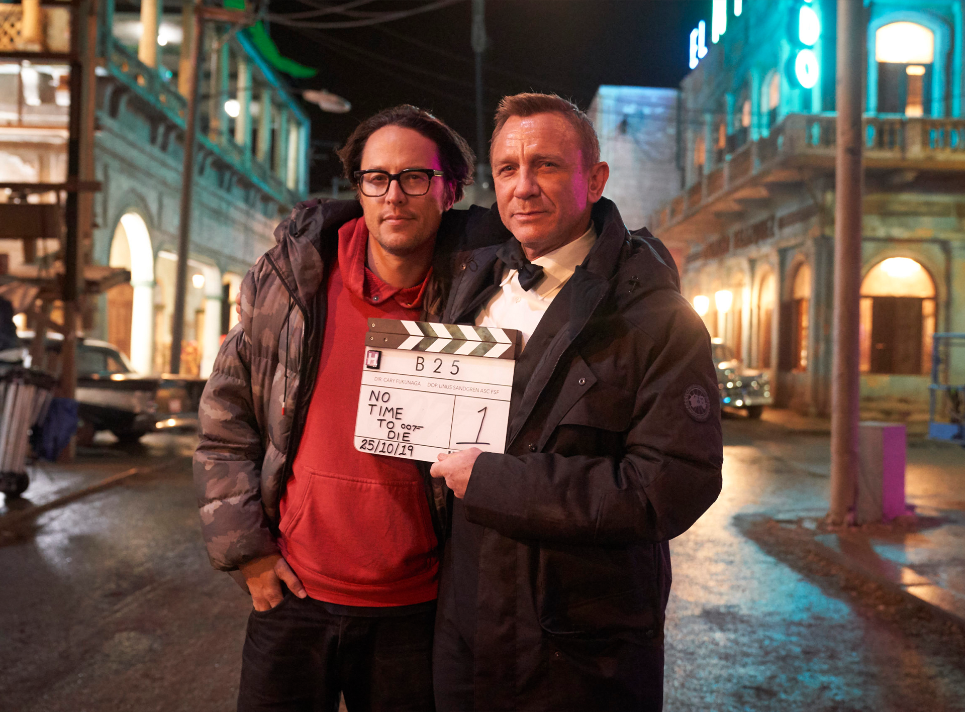 <i>No Time To Die</i> Production Wraps