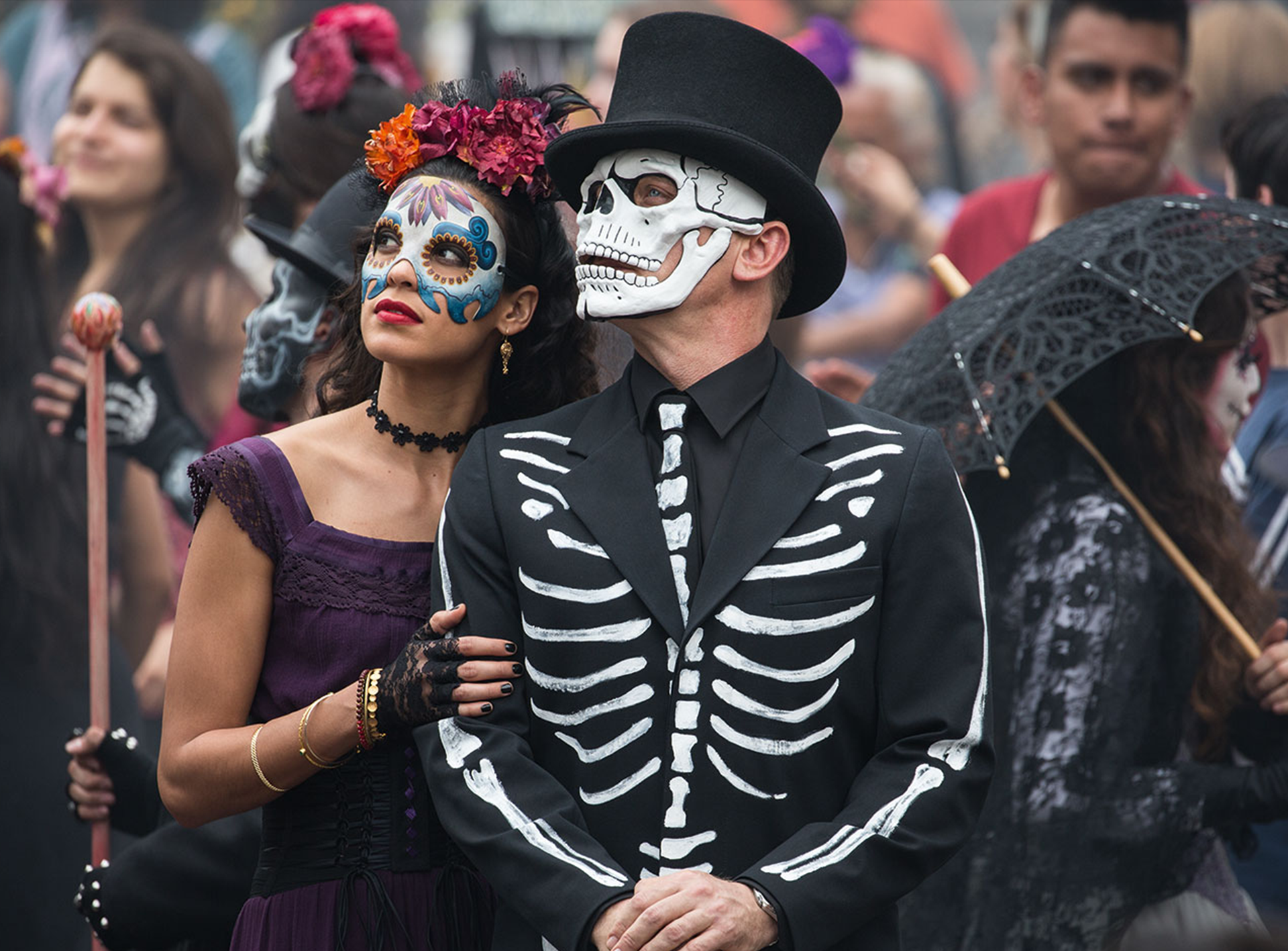 Focus Of The Week: <i>Spectre's</i> Day of the Dead scene