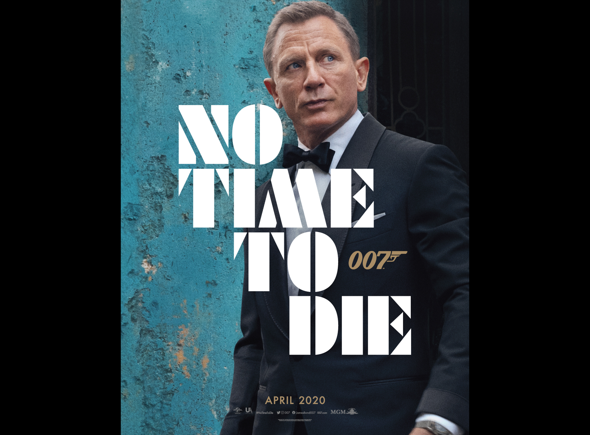 First Poster For <i>No Time To Die</i>