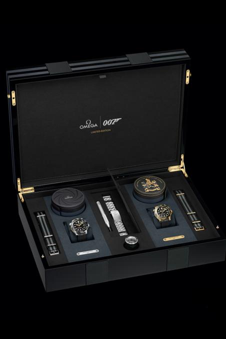 OMEGA James Bond Limited Edition Set