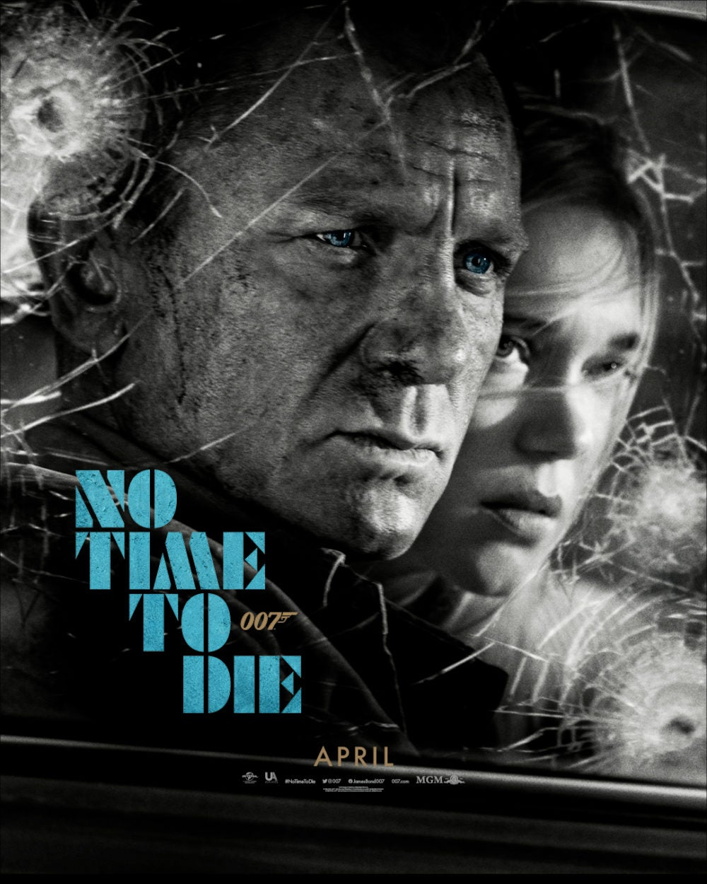 NEW NO TIME TO DIE POSTER