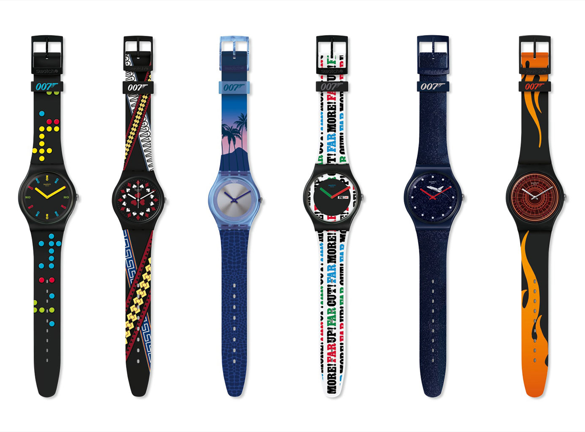 Swatch X 007 Collection Released
