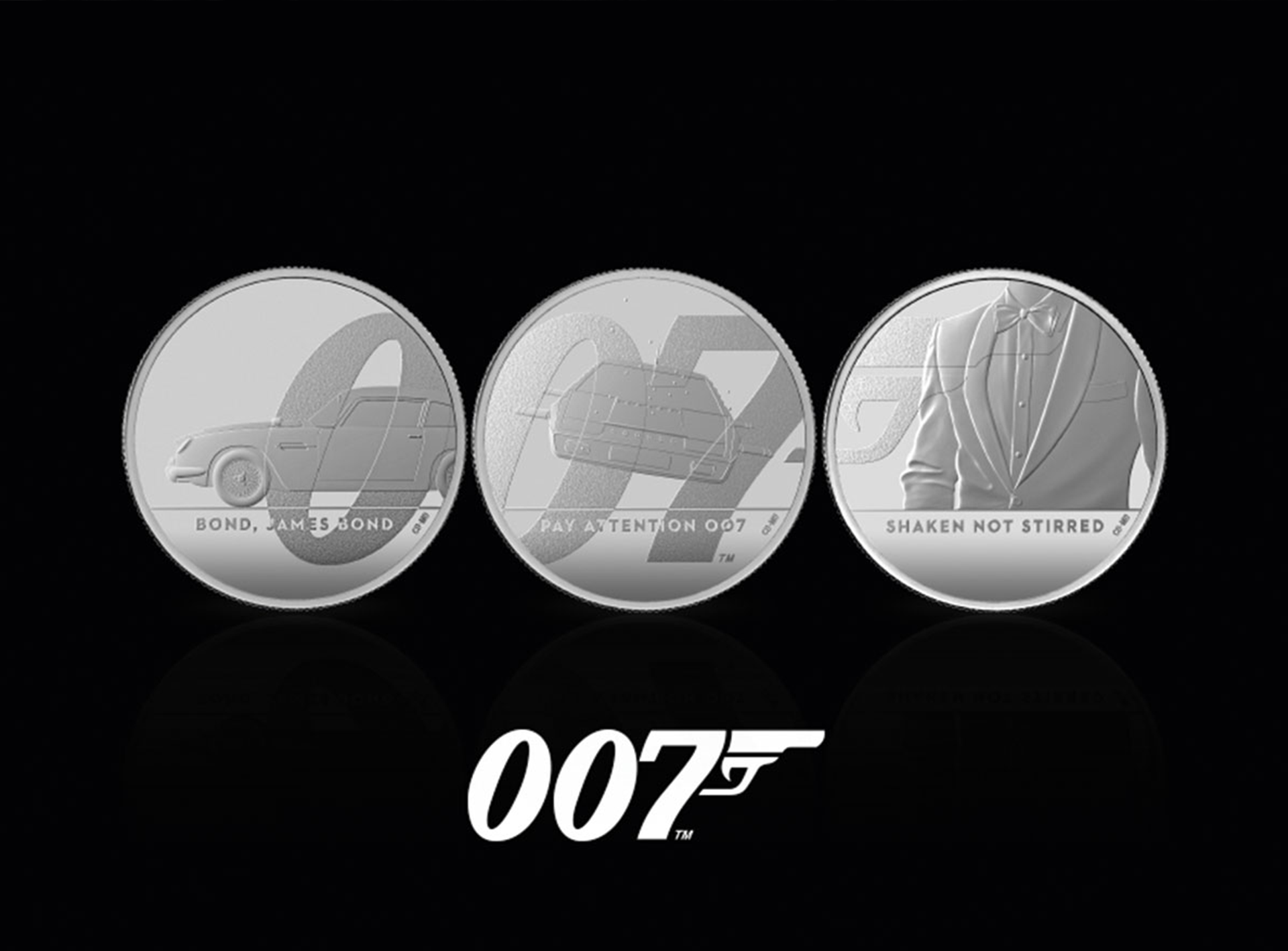 Royal Mint James Bond Collection