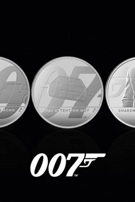 Royal Mint James Bond Collection