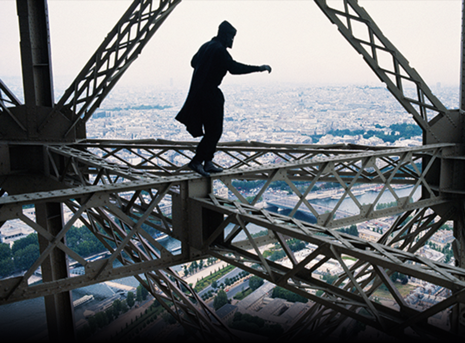May Day's Eiffel Tower Leap