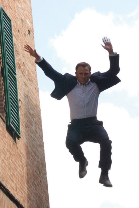 Quantum Of Solace Rooftop Chase