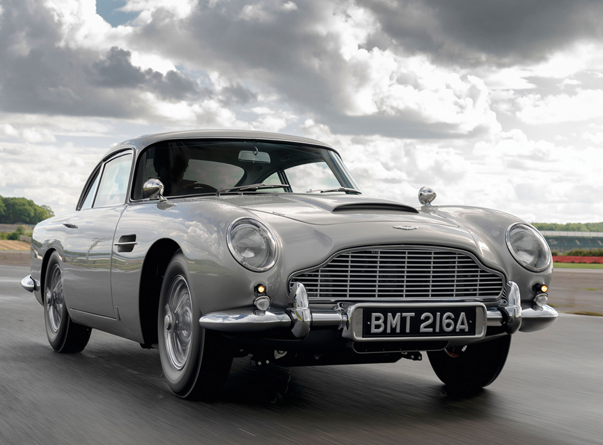 First New DB5 Rolls Off The Line