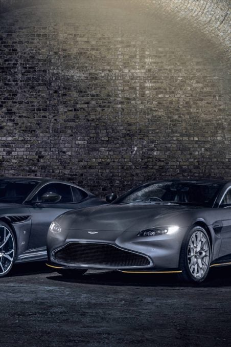 Two Aston Martin 007 Special Editions