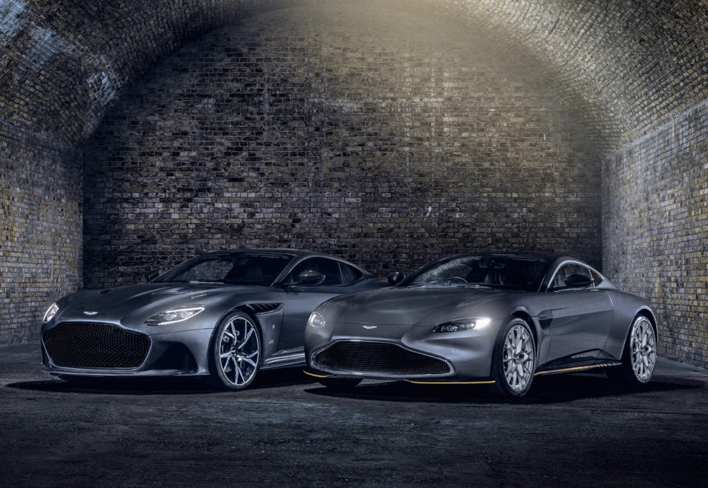 ASTON MARTIN CREATE TWO NEW 007 SPECIAL EDITIONS