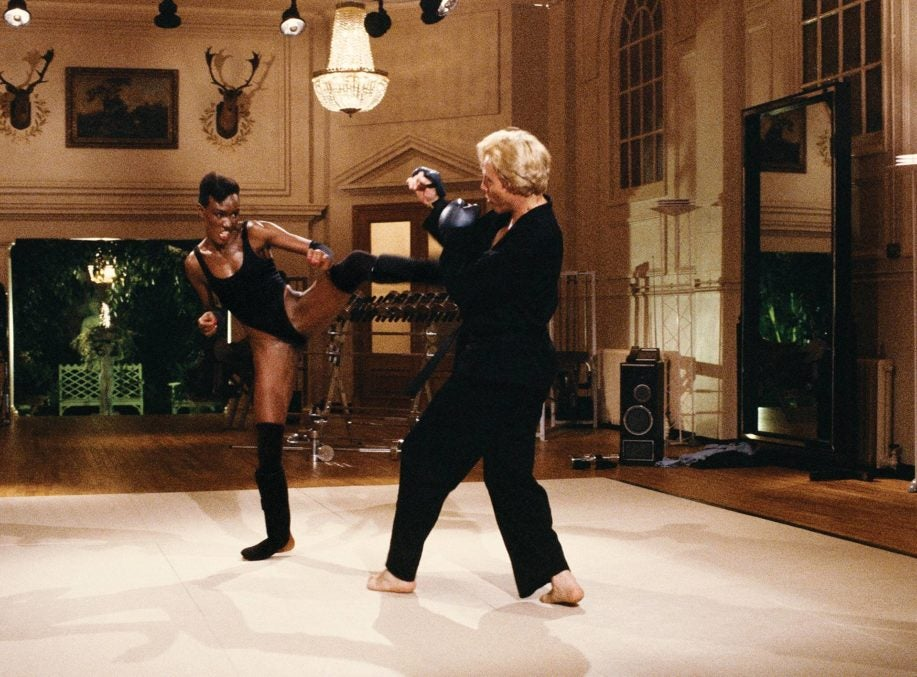 Max Zorin Spars With May Day