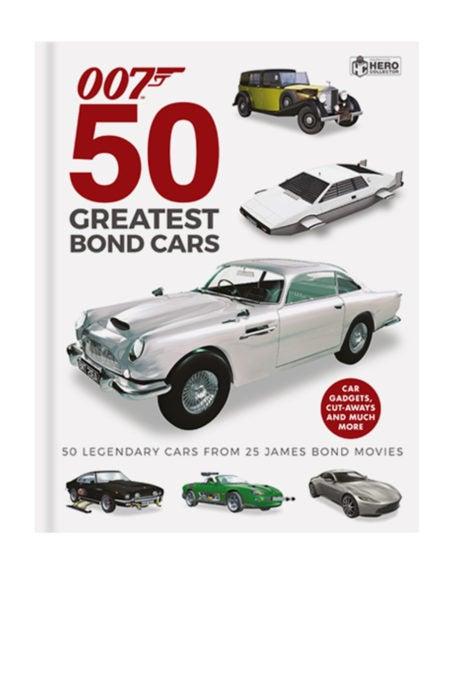 The 50 Greatest Bond Cars Book