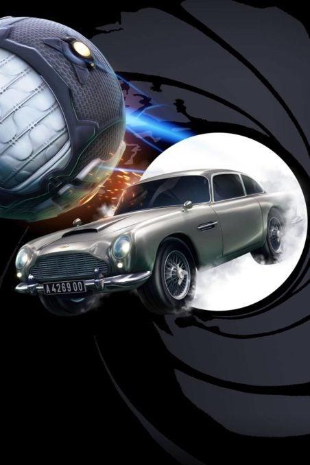 James Bond's DB5 On Rocket League