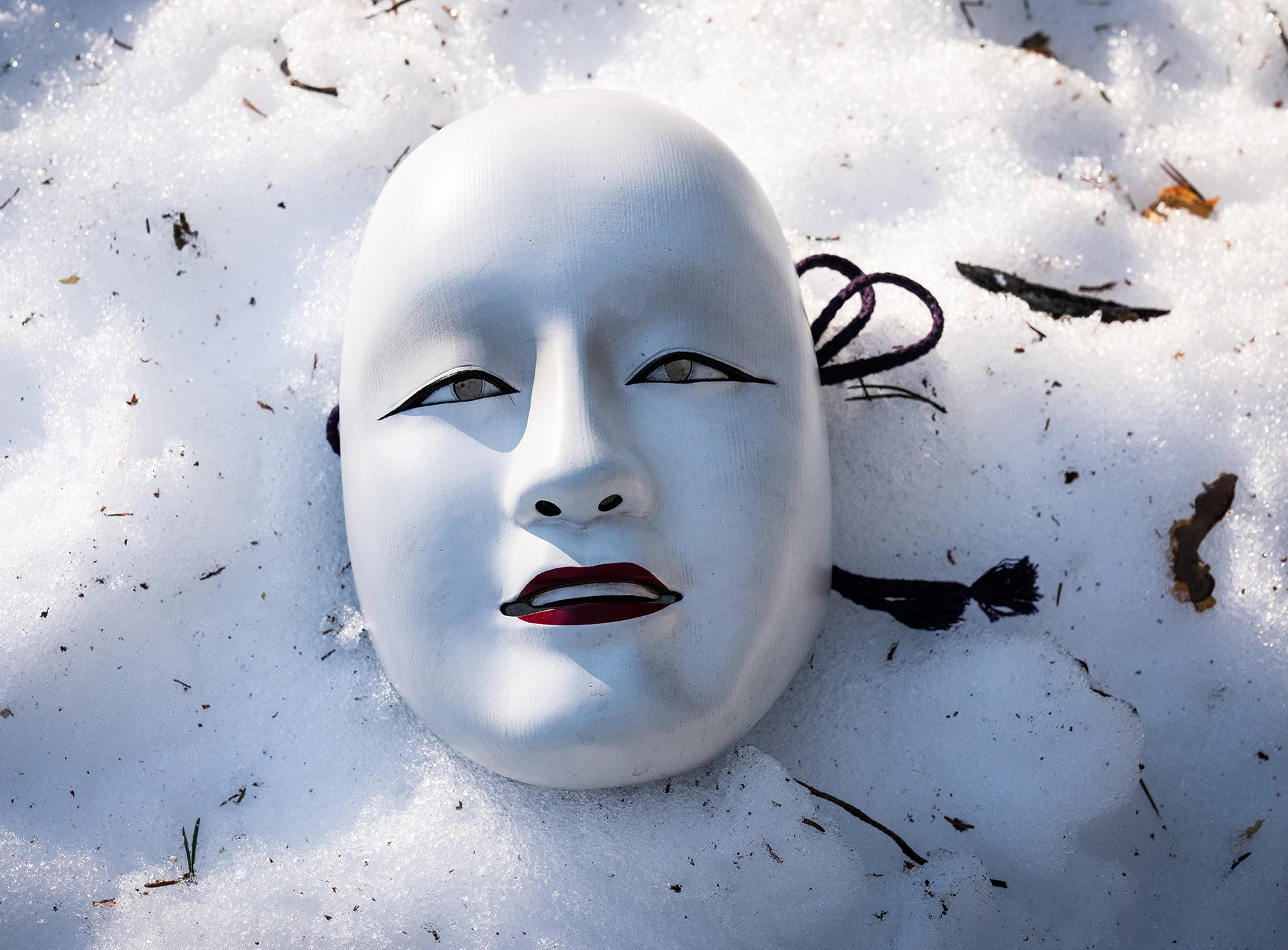 <i>No Time To Die</i> Safin Mask Prop Replica