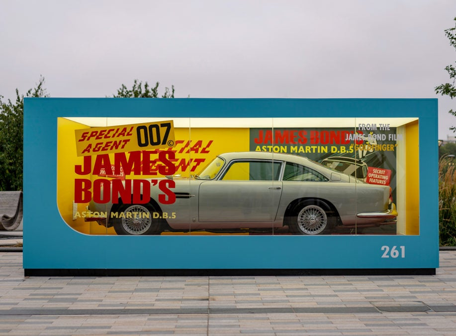 Luxury Car Maker's No Time To Die Campaign Launched in London