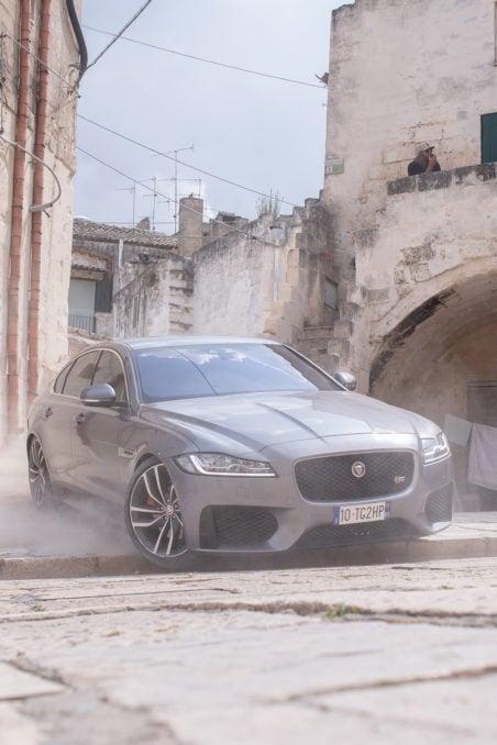 Jaguar XF Makes Its Debut In No Time To Die