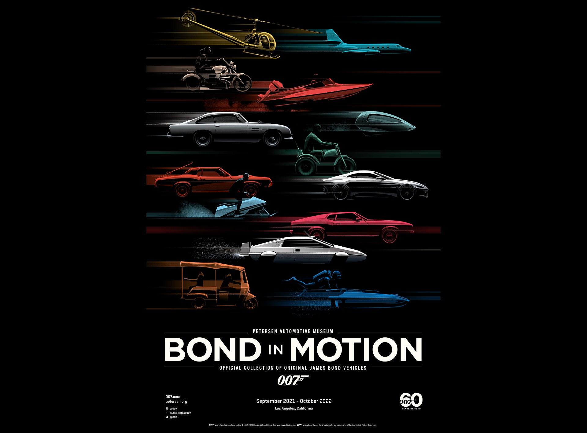 Petersen Automotive Museum To Host Bond In Motion
