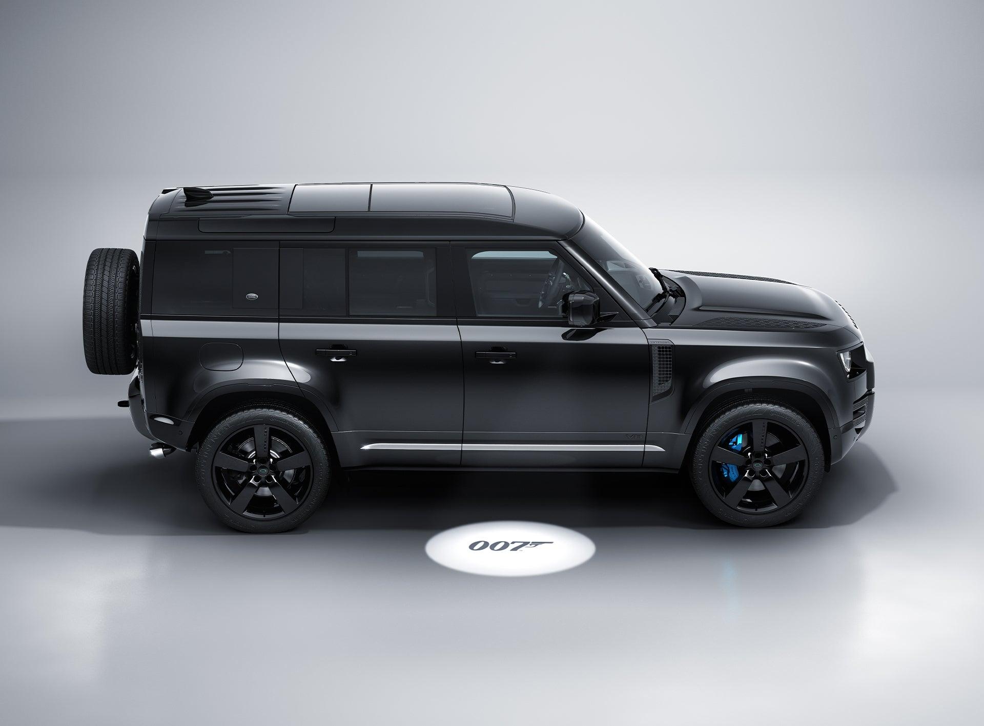 New Land Rover Defender V8 Bond Edition