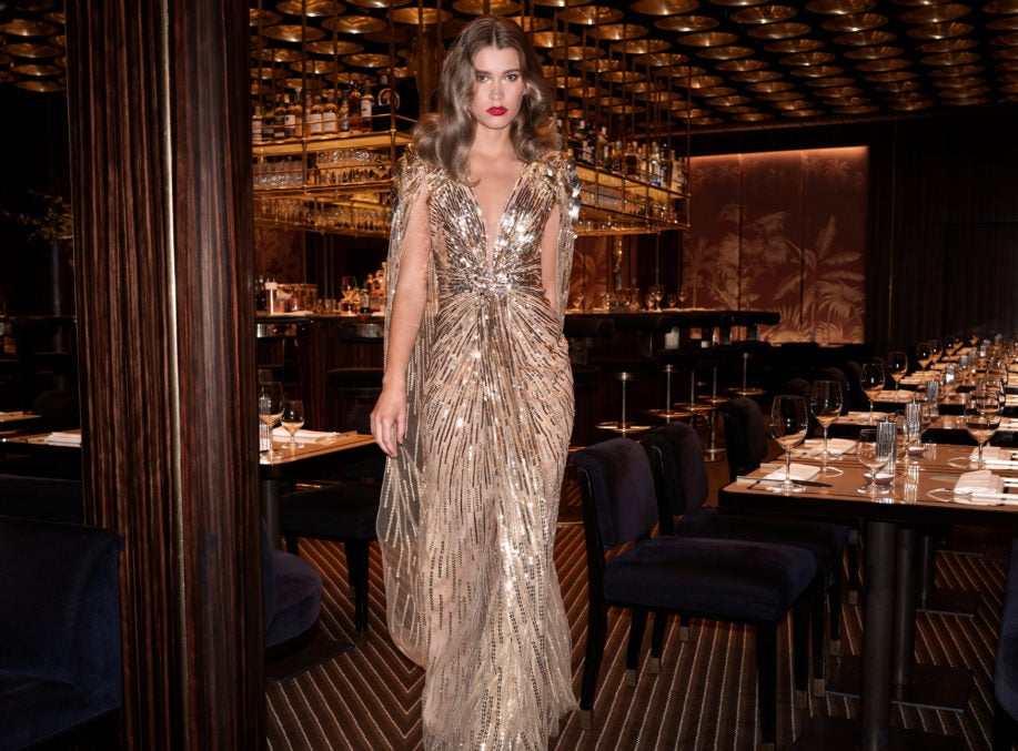 Exclusive Jenny Packham 007 Capsule Collection