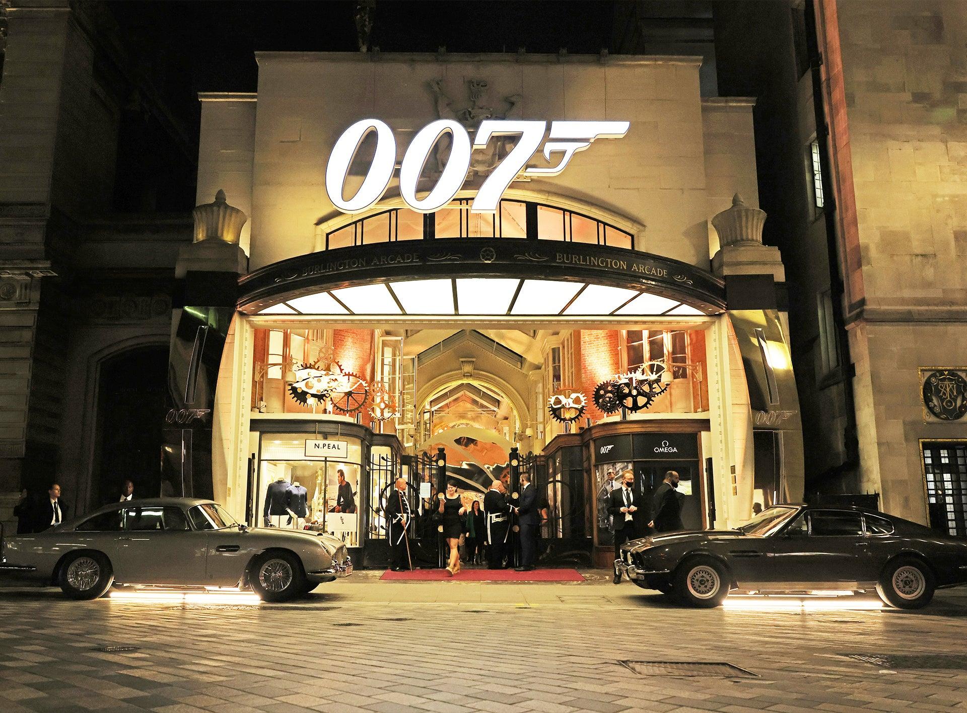 Burlington Arcade Launches 007 installation