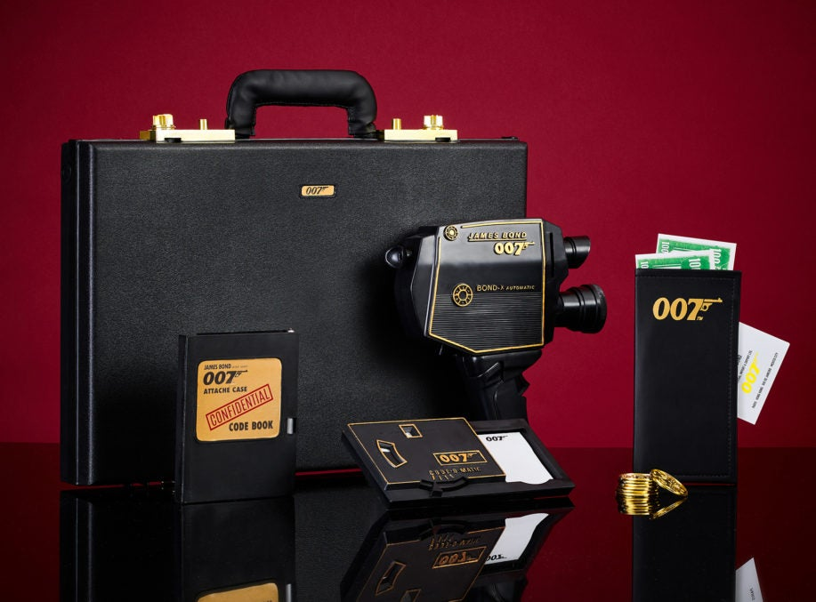 The 007 Secret Agent Attaché Case