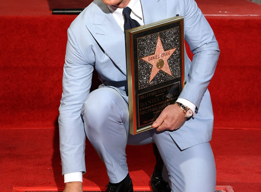 Daniel Craig Honoured By Hollywood Walk Of Fame